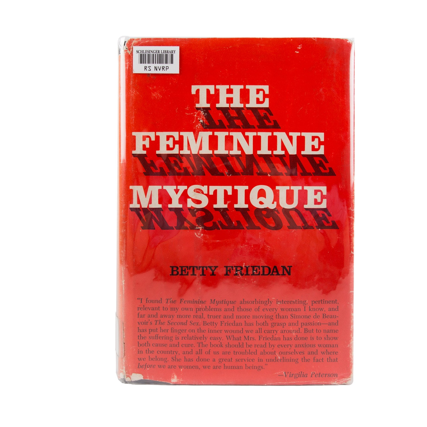 "Cover of ""The Feminine Mystique"""