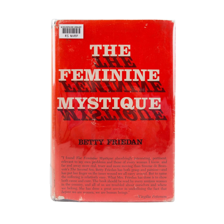 """Cover of """"The Feminine Mystique"""""""
