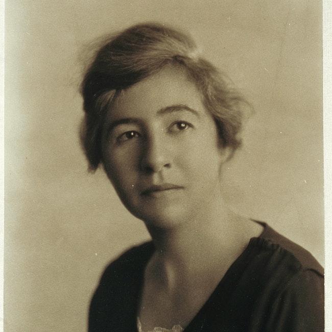 Portrait of Miriam Van Waters