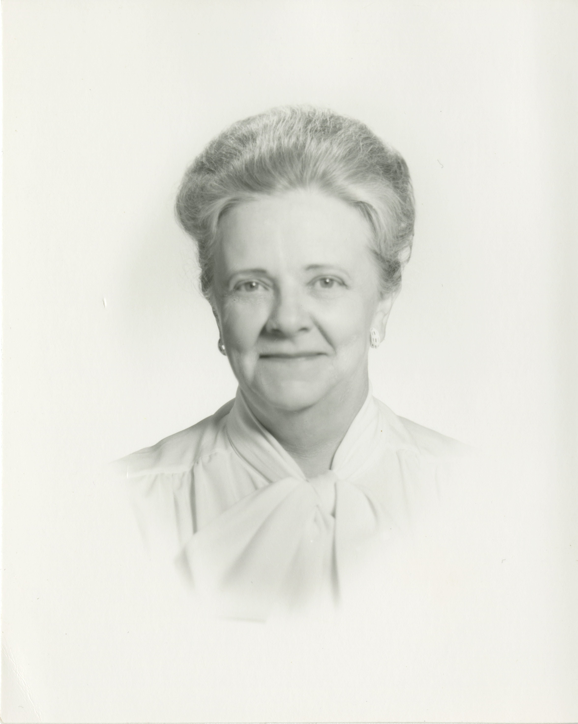 Formal portrait of Eunice Howe