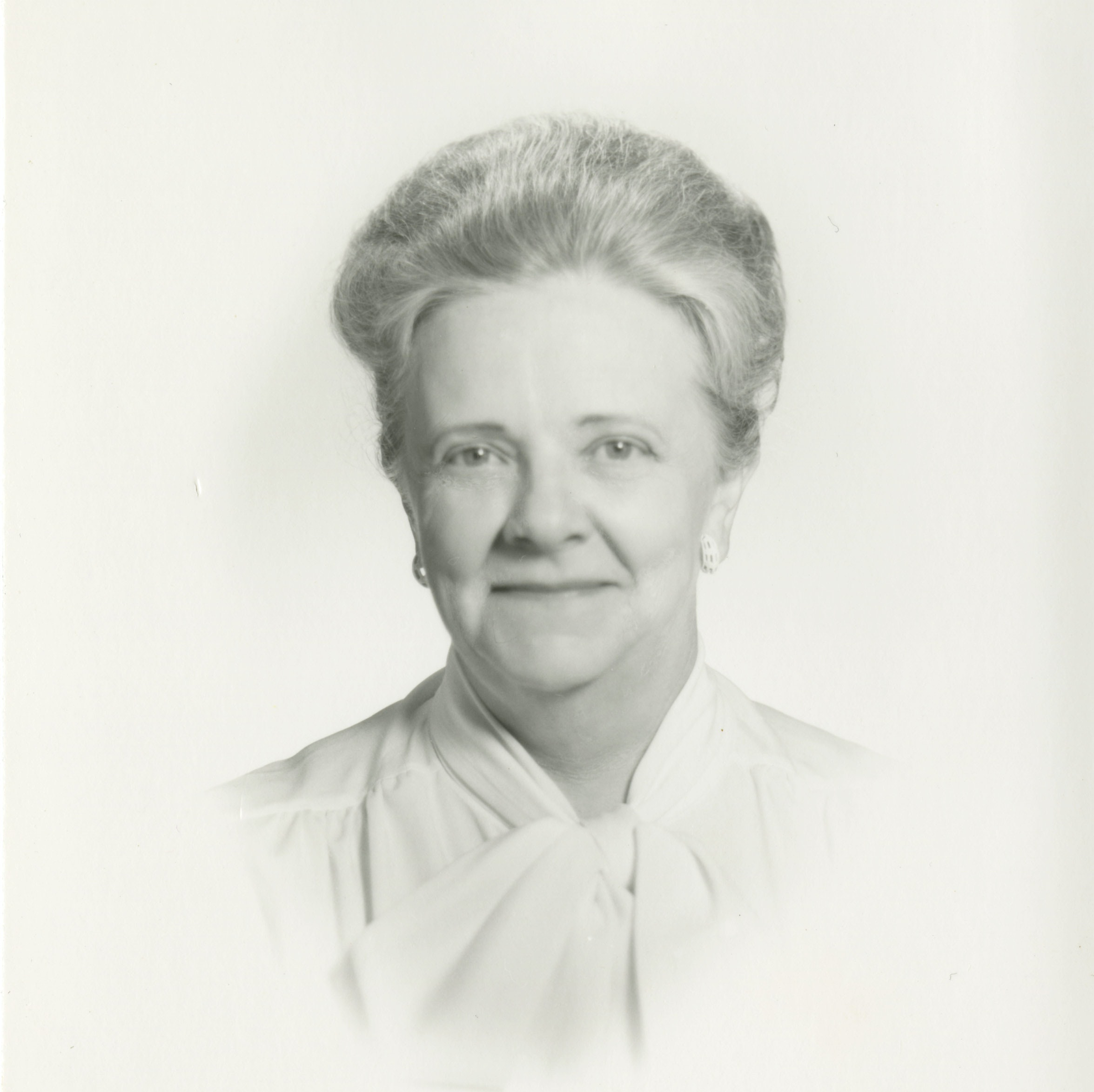 Formal portrait of Eunice Howe