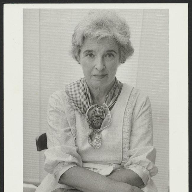 Formal portrait of Gerda Lerner