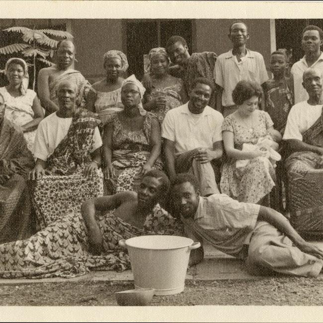 Ana Livia Cordero with others in Ghana