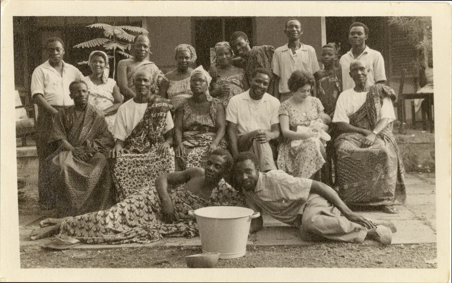 Ana Livia Cordero with others in Ghana