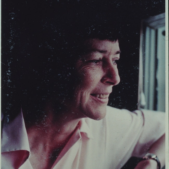 Portrait of Barbara Deming