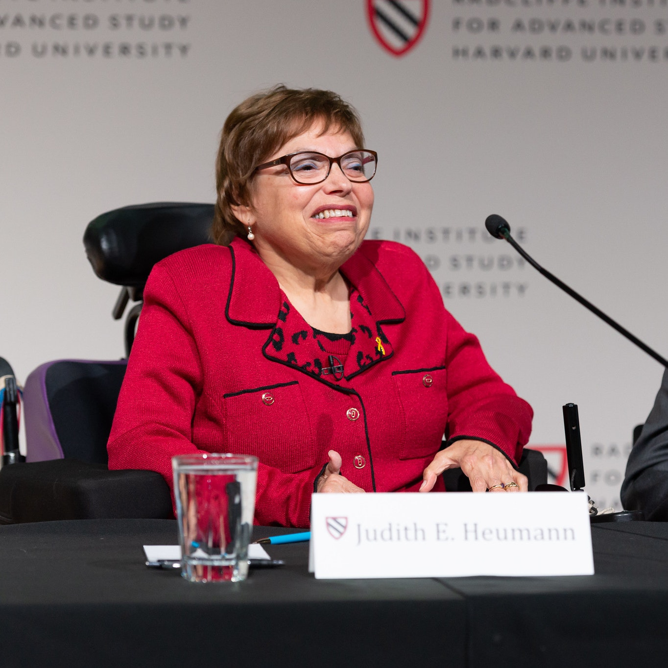 "Judith E. Heumann at ""Disability and Citizenship: Global and Local Perspectives""."