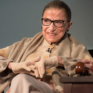 Ruth Bader Ginsburg [Photo by Tony Rinaldo]