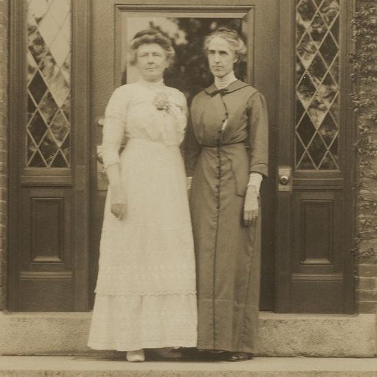Annie J. Cannon and Henrietta Leavitt_courtesy of Schlesinger Library