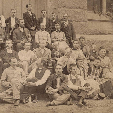By 1890 women were allowed to participate in Harvard summer school chemistry to prepare for teaching in secondary schools_courtesy of Harvard University Archives