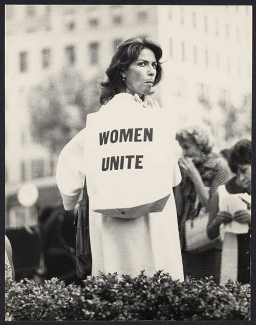 First Women's March down Fifth Avenue, August 26, 1970