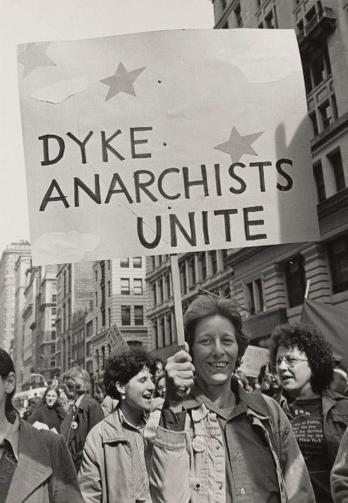 Gay rights demonstration, New York City, March 12, 1977