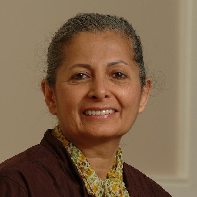Headshot of Mehrangiz Kar