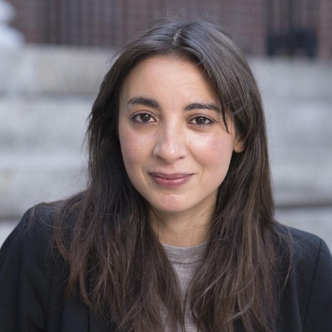 Headshot of Bouchra Khalili