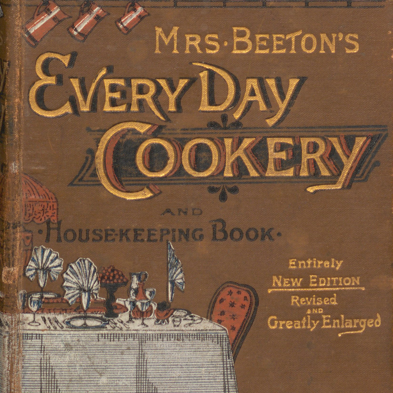 Cookery and housekeeping book
