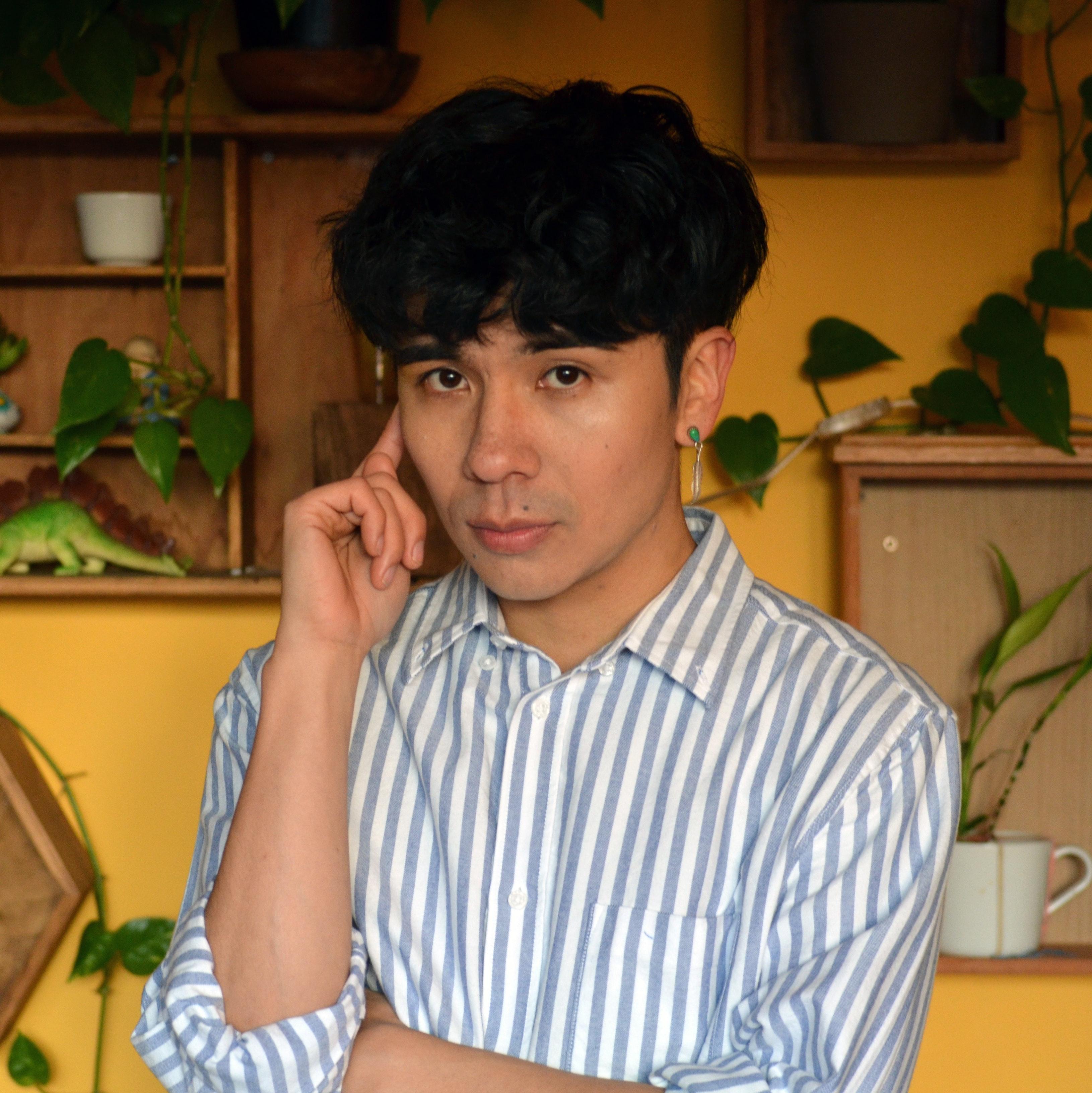 Ocean Vuong portrait