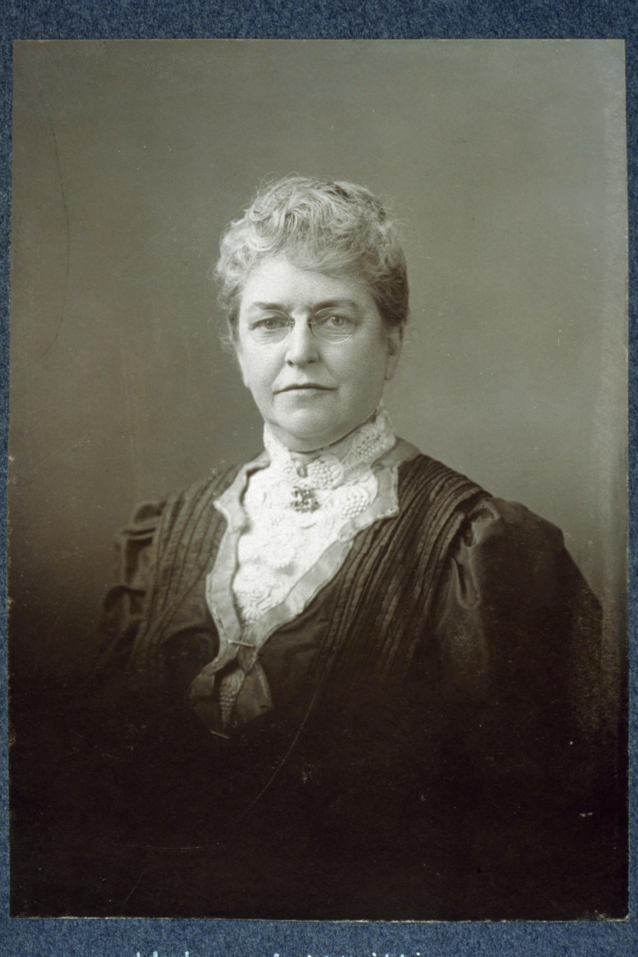 Portrait of Helen Augusta Whittier