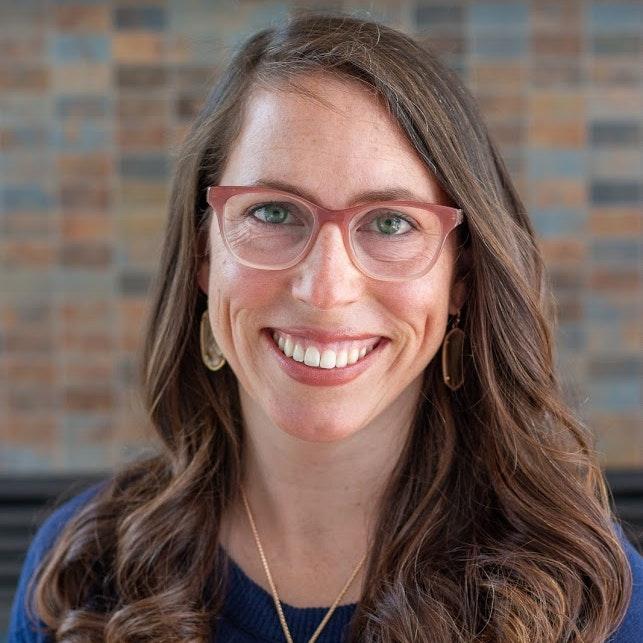 Headshot of Sarah James