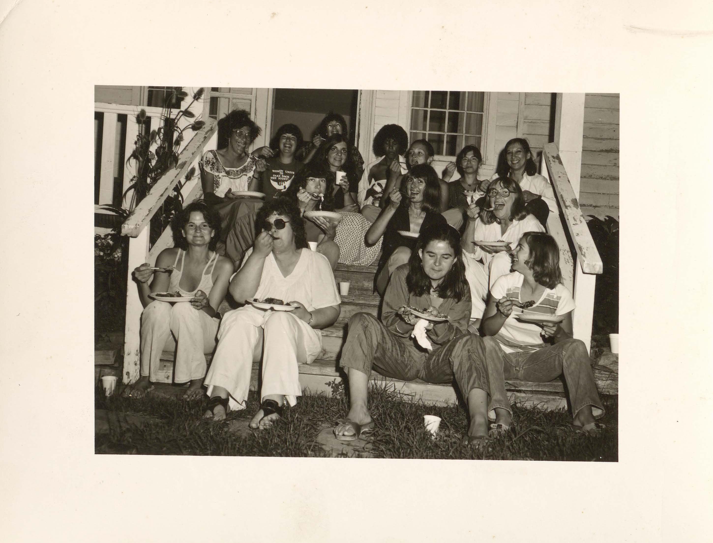 Members of a writing workshop