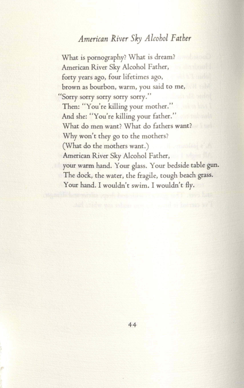 Poem by Jean Valentine