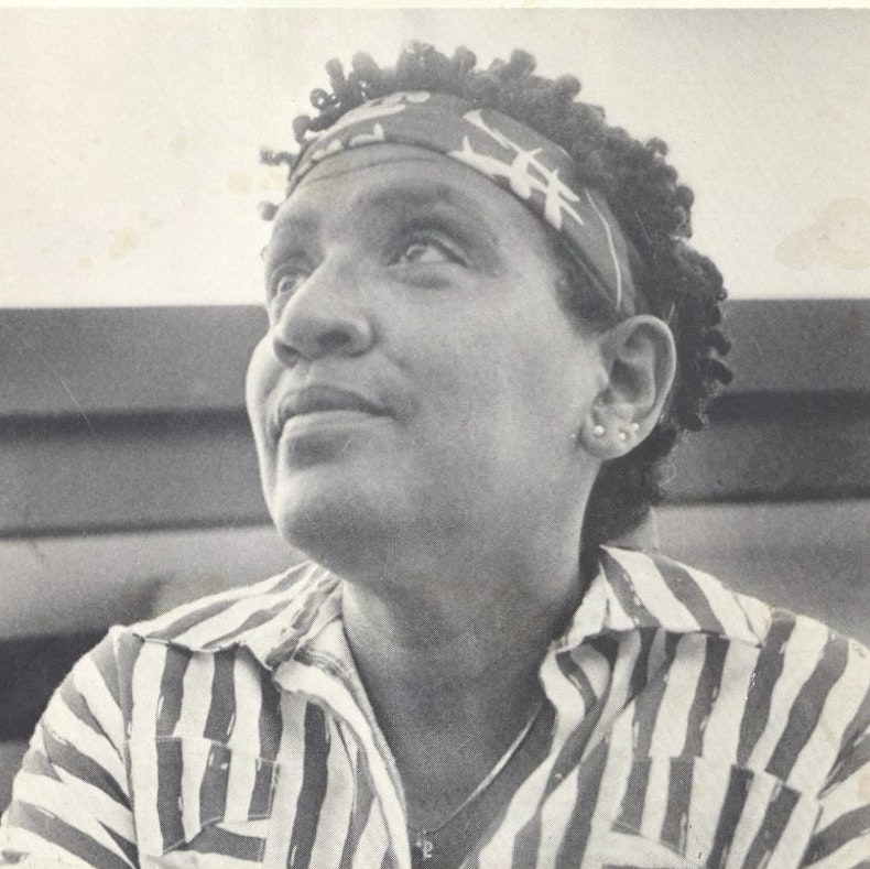 Audre Lorde on cover of Poder