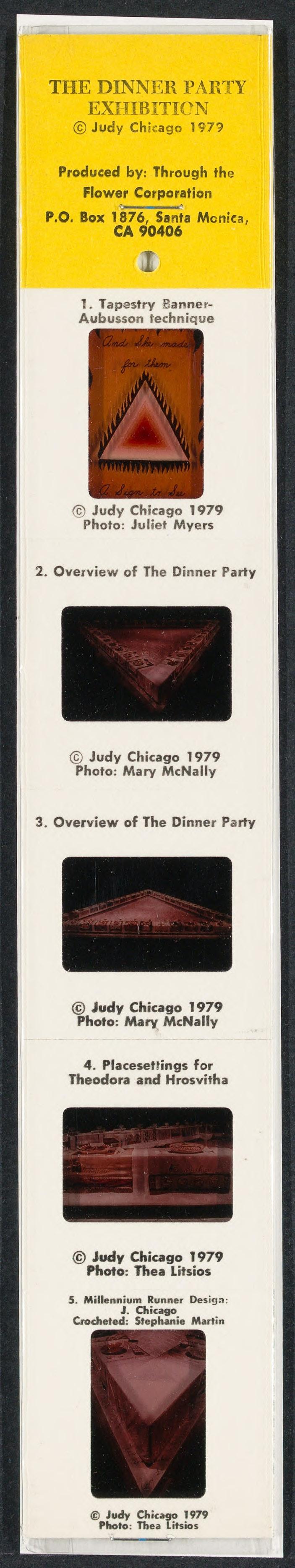 Slide set of the Dinner Party