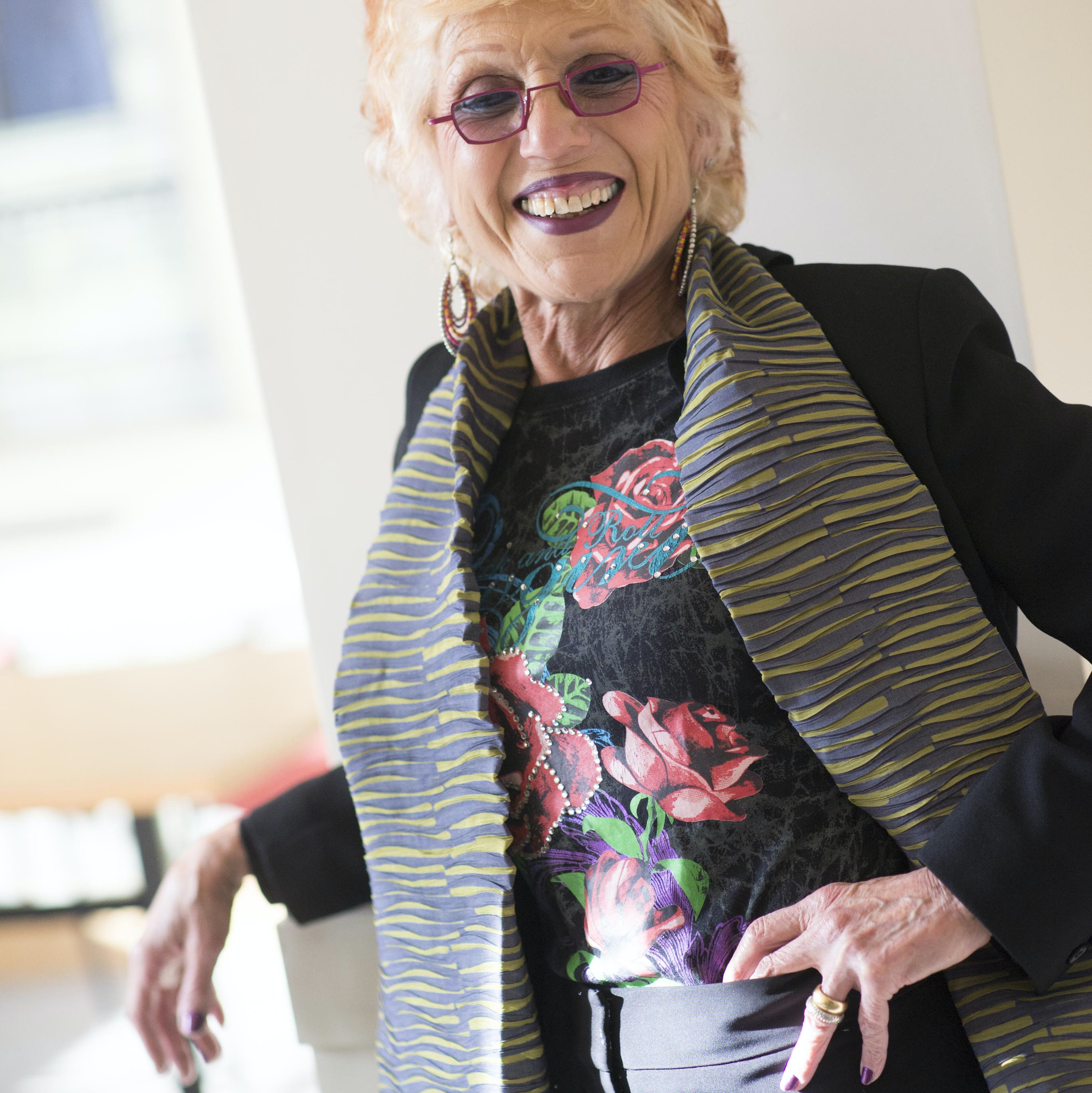 Judy Chicago Portrait Radcliffe Tr